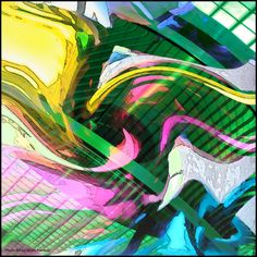 Abstract  made by Ineke Planken