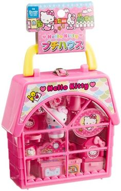 Hello Kitty Petite House - Compact Set with Complete Setup for Tea Parties by Muraoka >>> You can get more details by clicking on the image.