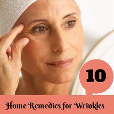 Natural Home Remedies for Wrinkles   Medi Tricks