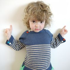 Nautical Sweater - for boy or girl - size 2-4 year old - made to order. €75,00, via Etsy.