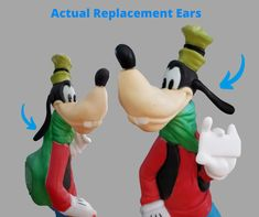 Replacement Ears for Santa's Best 35