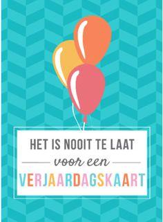 Gefeliciteerd Belated Birthday Wishes, Birthday Love, Love Quotes, Inspirational Quotes, Bday Cards, Latte, Congratulations, Birthdays, Words