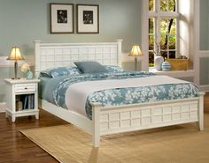 Home Styles Arts and Crafts Bedroom Set - White