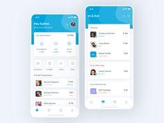 Mobile Bank App by Sulton hand for Pixelz Studio on Dribbble Mobile App Design, Android App Design, Mobile App Ui, Android Ui, Web Design, App Ui Design, User Interface Design, Mobile Advertising, App Design Inspiration