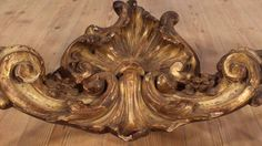 French gilded and lacquered console table of the 19th century - YouTube