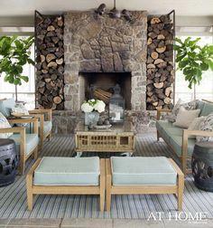 красивый дом у озера для семейного отдыха (дизайнер Heather Chadduck)
