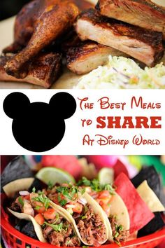 Meals You Can Split at All Four Disney World Parks. Feeding a family at Disney World can be expensive. Here is a list of meals you can split or share at all four Disney World Parks. Voyage Disney World, Viaje A Disney World, Disney World Food, Disney World Parks, Disney Worlds, Disney World In Florida, Disney World Vacation Planning, Walt Disney World Vacations, Disney Planning