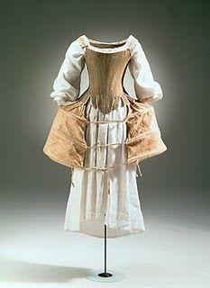 Corset c. 1720   eleanorsbox