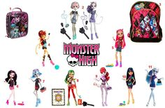 Monster High items ..   To order: http://www.shopaholic.com.ph/