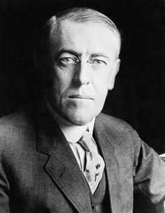 December 28,1856 – Woodrow Wilson, | Woodrow Wilson 1856-1924 Photograph - President Woodrow Wilson 1856 ...