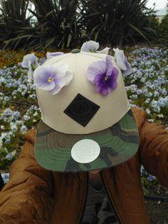 Flower power cap (my cap)