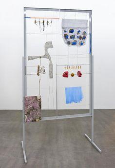 Alexandra Bircken - Unit 3 (and detail) - Contemporary Art Things Organized Neatly, Mobiles, Saatchi Gallery, Draw On Photos, Oeuvre D'art, Aluminium, Installation Art, Textile Art, New Art