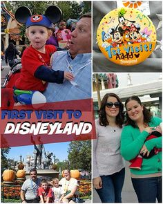 First Time Visitors to Disneyland with Family