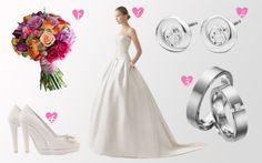 Vestido de Rosa Clarà 2014 - http://www.bodas.net/articulos/look-de-novia-clasico-y-elegante--c2325