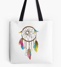 Dreamcatcher Rainbow  Tote Bag