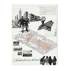 Ideas Landscape Architecture Project Student For 2019 Site Analysis Architecture, Architecture Mapping, Architecture Concept Diagram, Architecture Presentation Board, Architecture Drawings, Landscape Architecture, Landscape Design, Urbane Analyse, Map Design
