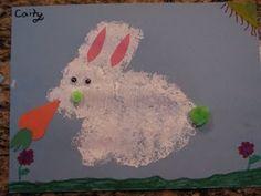 Sponge Painting Bunny
