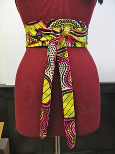Bella Duafe Obi Belt by BellaDuafe on Etsy, $15.00