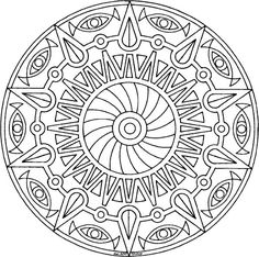 images of printable  geometric coloring pages | download print and color any of the following mandala coloring pages