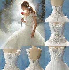 16 Wedding Gowns Every Disney-Crazy Bride Would Love | Wedding ...