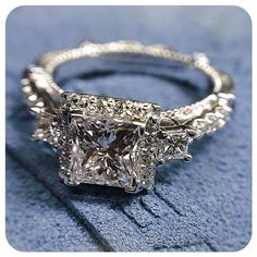 All shades of beautiful. #sparkles #engagementring #verragio #jewelry #parisian122p