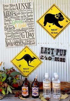Come to Australia with me Party Co, Festa Party, Australian Party, Australia Day Celebrations, Aus Day, Bbq Decorations, Leaving Party, Aussie Food, Party Poster