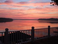 Lake Gaston, NC... I miss waking up to this every morning.