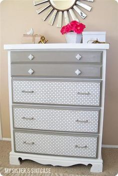 DYI Project... can someone please do this to my dresser?  It really needs it...lol