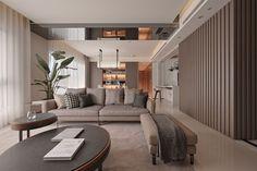 Cet article présente 25 exemples de décoration d'intérieur élégante en style contemporain par les créateurs d'intérieurs design de chez Fantasia Interior.