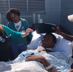 Xavier Barrino - What Happened To Fantasia Brother?  Fantasia Barrino's brother Xavier was recently involved in a serious motorcycle accident. The Instagram video below shows him outside in his hospital bed. There's nothing more difficult than being bedridden. Fantasia is asking fans to pray for Xavier. The accident occurred in Charlotte North Carolina.  The incident reminds me of Jay Z's nephew's car accident. The rapper felt like it was his fault because he bought his nephew the car that…