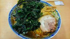 """Big Soy-based Sauce Ramen with Wakame at """"TAISYOU-KEN"""" at Yurakucho"""