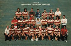 The 1982 Fort Lauderdale Strikers.  Who do you recognize in the photo?