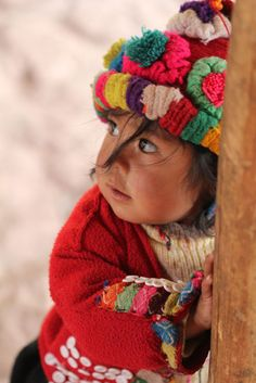 peruvian child. precious.