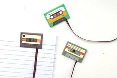 Set of 3 cassette tape magnetic bookmarks Size: inches wide **Happy shopping** Use these cute clips to brighten up your daily planners and organizers, use as calendar markers, bookmarks, scrapbooks or any where you need some fun! Magnetic Bookmarks, Some Fun, Scrapbooks, Happy Shopping, Markers, Tape, Stationery, Etsy, Sharpies