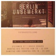 Fotoausstellung von Kathi Bauersachs in Coburg