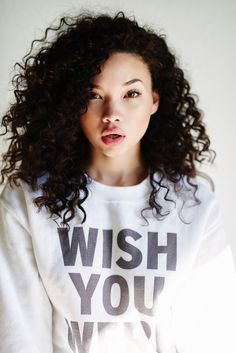 Find images and videos about ashley moore on We Heart It - the app to get lost in what you love. Pretty People, Beautiful People, Curly Hair Styles, Natural Hair Styles, Hazel Levesque, Aesthetic People, Portraits, Beautiful Lips, I Love Girls