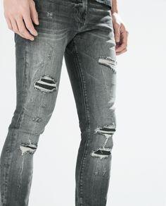 Best Inspiration White Ripped Jeans For Men | Jeans | Pinterest