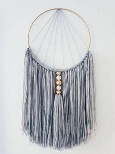 Diy Macrame Wall Hanging, Macrame Art, Macrame Design, Macrame Knots, Handmade Wall Hanging, Macrame Curtain, Macrame Mirror, Macrame Wall Hangings, Yarn Wall Art