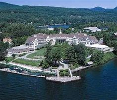 The Sagamore in Bolton Landing, New York is located on beautiful Lake George. Ghosts must think it is beautiful too, because they keep wanti. Summer Vacation Spots, Vacation Ideas, Vacation Places, Dream Vacations, Bolton Landing, Lake George Ny, Map Of New York, Adirondack Mountains, Family Resorts