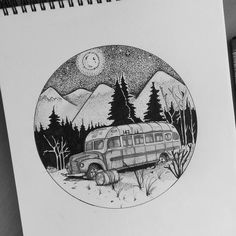 Inktober ✒ Day 1 : Into the wild  #doodle #art #illustration #drawing #draw#artist #sketch #sketchbook #instaart #artist #instagood #creative #photooftheday #artoftheday #pencil  #tattoo#iblackwork#inktober #inktober2016#inktober2go