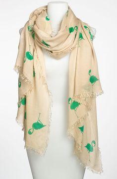 flamingo scarf - adorbies