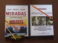 MIRADAS UNA HISTORIA PARA COLGAR EN LA PARED/CARÁTULA Y DVD DEL CORTOMETRAJE QUE INCLUYE MAKING OF miradasunahistoriaparacolgarenlapared #vistazos #shortfilm #independientfilm #jordimartinez #cineindependiente #festivalfilm #dvd #makingof