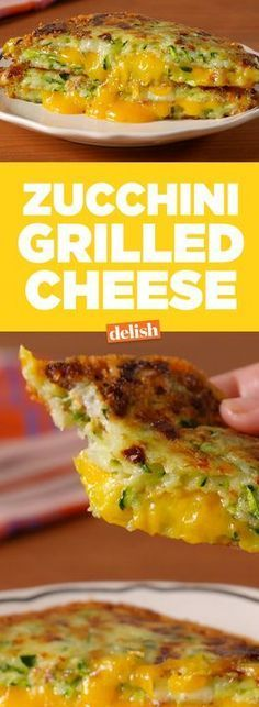 Zucchini Grilled Cheese is part of Grilled cheese recipes - Check out this easy low carb recipe for the best zucchini grilled cheese from Delish com! Low Carb Recipes, Diet Recipes, Vegetarian Recipes, Chicken Recipes, Cooking Recipes, Healthy Recipes, Hamburger Recipes, Recipies, Vegan Recipes