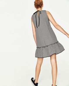 Image 4 of CHECKED DRESS from Zara