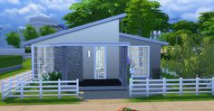 Small House at Caeley Sims via Sims 4 Updates