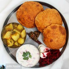 Via @aditi.foodie -  Coming home to mum's food after a stressful month at uni is the best feeling!! Had this delicious meal last night: Bedmi poori with aloo ki sabji vegetable raita mango pickle and beetroot salad on the side. #loveyoumom  . . . #delhigram #delhiwale #sodelhi #delhi_igers #dfordelhi #streetfood #delhifoodie #foodtalkindia #indiagram #ifoundawesome #indianfood #delhistreetfood #delhifoodblogger #delhifoodie #delhifoodguide #delhifood #trellfood #indianstreetfood…
