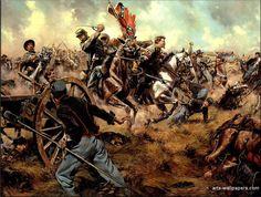 American Civil War Paintings, Art, Prints, Gallery, Pictures, Artworks