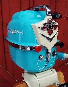 Vintage antique 1956 Mercury outboard boat motor