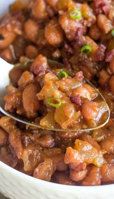 ... sweet and spicy bbq baked beans sweet spicy bbq baked beans serves