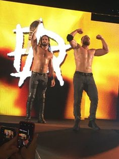 Seth Rollins and Dean Ambrose Dean Ambrose Seth Rollins, Full Nelson, Jonathan Lee, Seth Freakin Rollins, Aj Styles, Total Divas, Professional Wrestling, Yesterday And Today, Wwe Wrestlers
